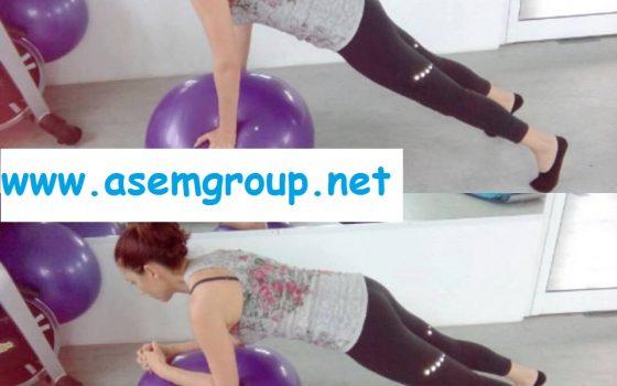 Комплекс от упражнения с фитбол за развитие на раменен пояс, коремна и гръбна мускулатура